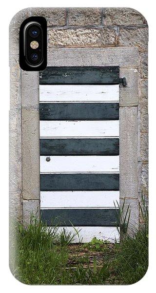 Striped Door IPhone Case