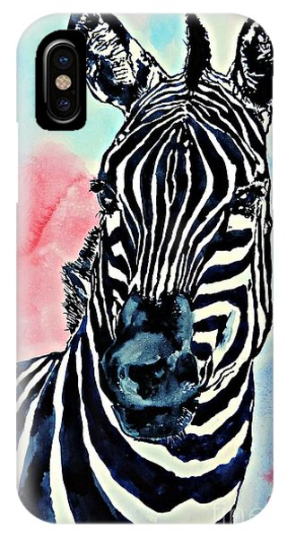 Stripes And A Mohawk IPhone Case