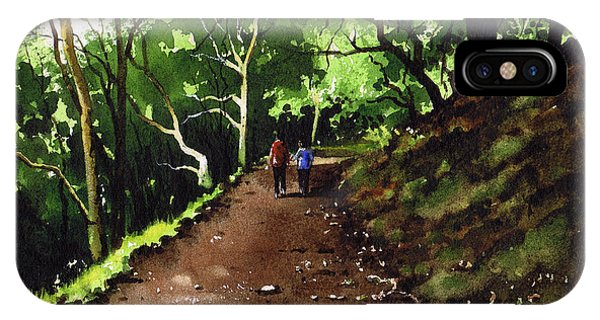 iPhone Case - Stroll At Hardcastle Crags by Paul Dene Marlor