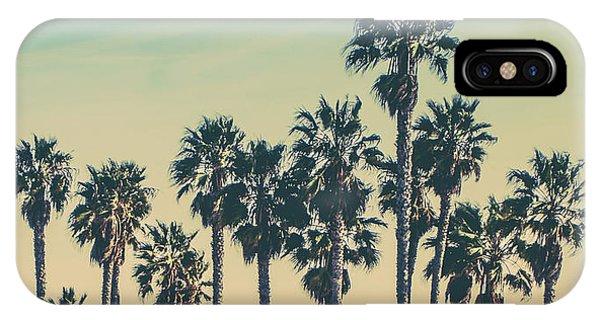 Venice Beach iPhone Case - Stroll Down Venice Beach by Az Jackson