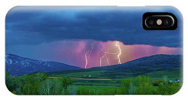 Storm Peak  IPhone Case