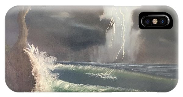 Strong Against The Storm IPhone Case