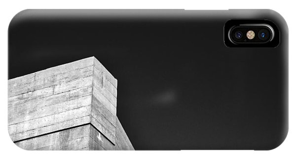Strong Contrast Wall - Madison - Wisconsin IPhone Case