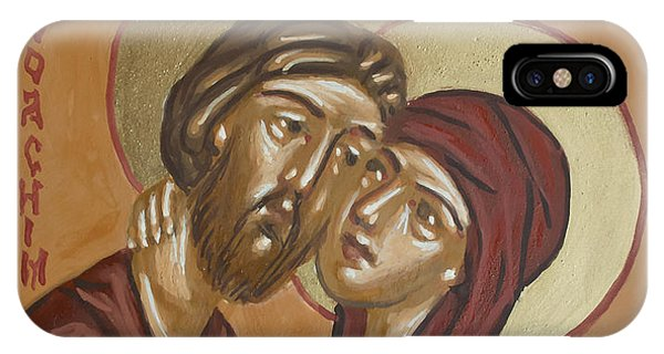 Saints Joachim And Anna IPhone Case