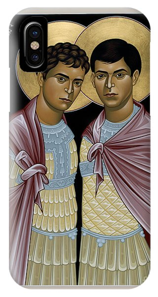 Sts. Sergius And Bacchus - Rlsab IPhone Case