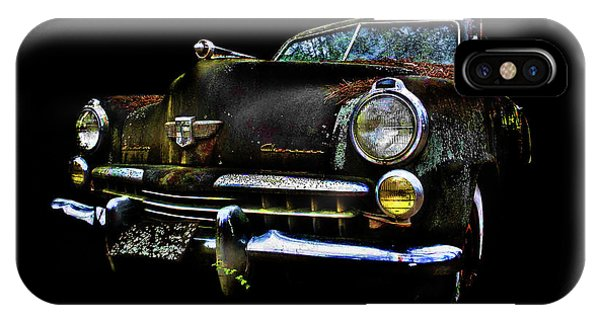 IPhone Case featuring the photograph Studebaker by Glenda Wright