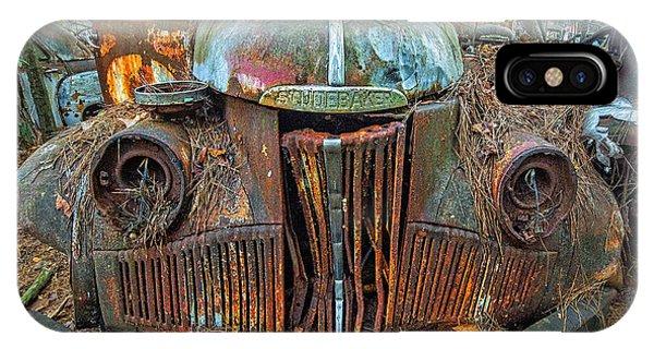 Studebaker With Broken Glass IPhone Case
