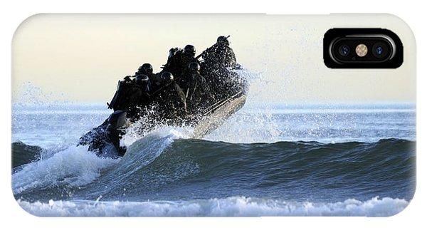 Coronado iPhone Case - Students In Navy Seals Qualification by Stocktrek Images