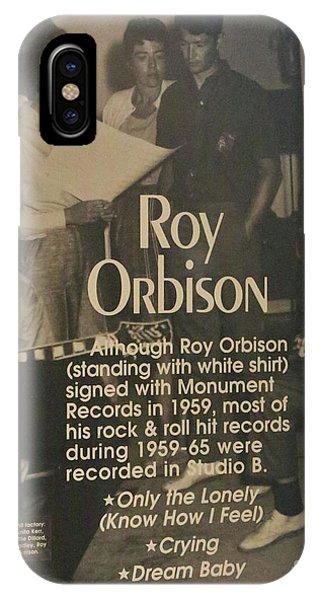 Studio B Roy Orbison  IPhone Case