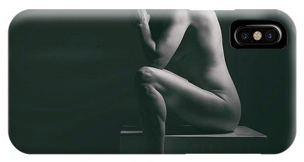 Studio Nude Seated IPhone Case