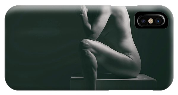 Studio Nude Seated IPhone Case