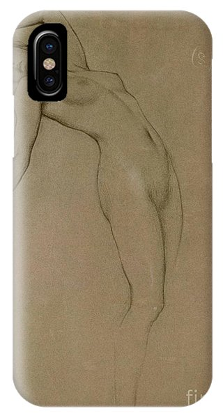 Female iPhone Case - Study For Clyties Of The Mist by Herbert James Draper
