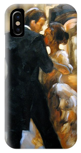 Dance iPhone Case - Study For Last Dance 2 by Stuart Gilbert