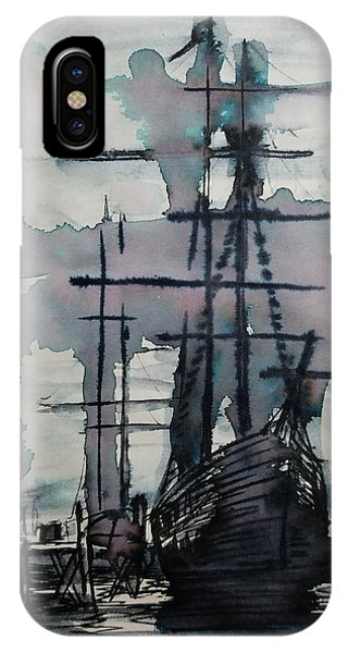 Study For Sailing Vessel Pandora IPhone Case