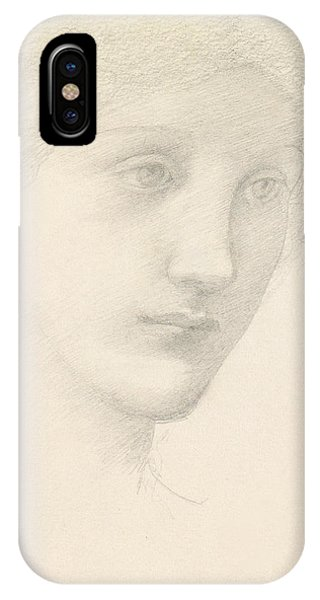 Study For The Venus In The Godhead Fires IPhone Case