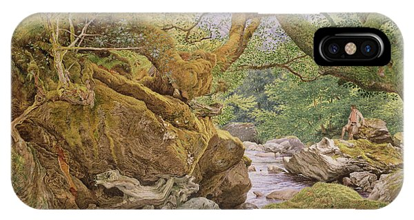 Study From Nature, Inveruglas, 1857 IPhone Case