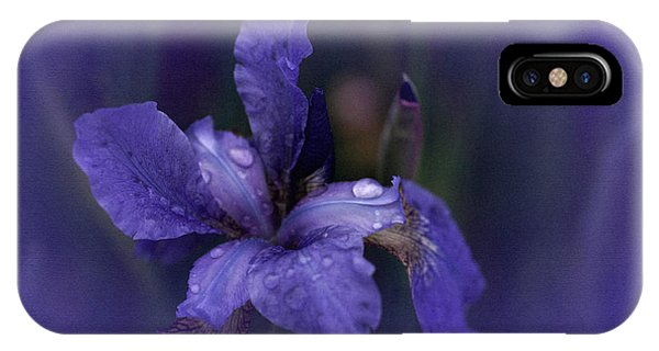 Study In Blue IPhone Case