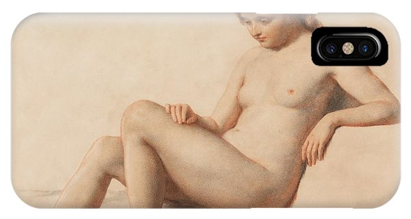Nudes iPhone X Case - Study Of A Nude by William Mulready