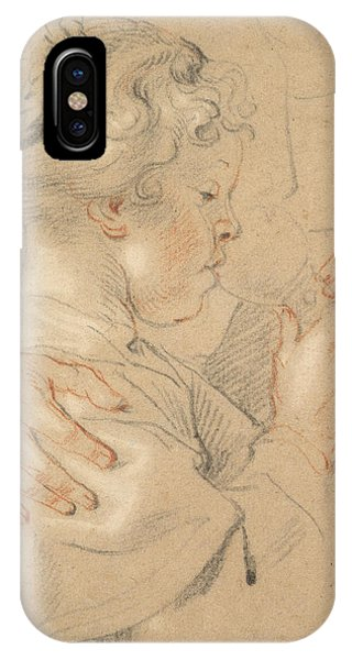 Baroque iPhone Case - Study Of A Young Girl Drinking From A Glass by Jacob Jordaens