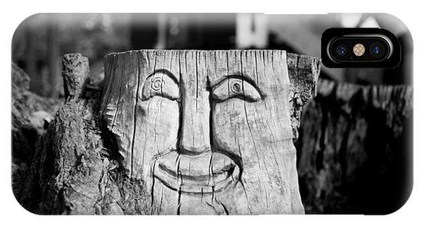 Stump Face 1 IPhone Case