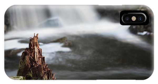 Stumped At The Secret Waterfall IPhone Case