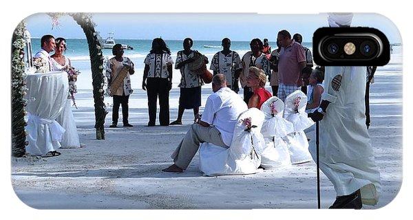 Exploramum iPhone Case - Stunning Kenya Beach Wedding by Exploramum Exploramum