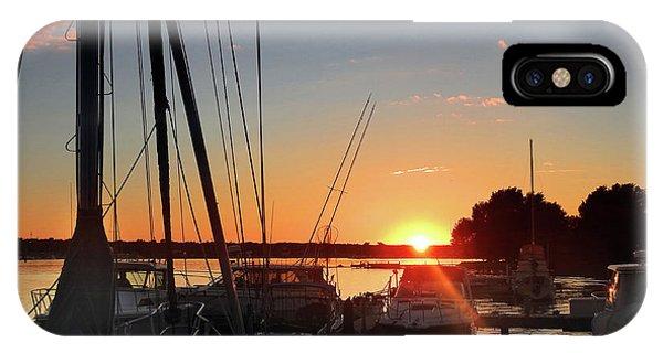 Sturgeon Bay Sunset IPhone Case