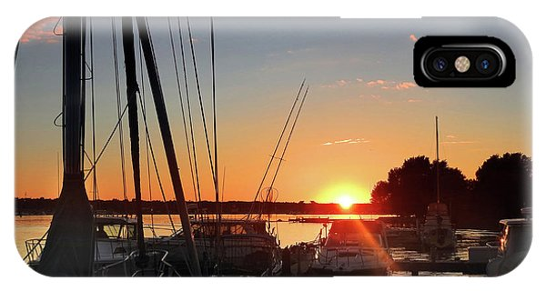 Sturgeon Bay Sunset IPhone Case