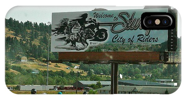 Sturgis City Of Riders IPhone Case