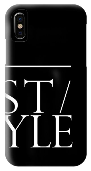 Style 1 - Minimalist Print - Typography - Quote Poster IPhone Case