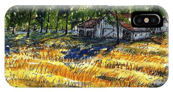 Suber Road Barns IPhone Case