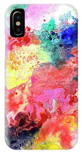 Subtle Vibrations, Canvas Four Of Five IPhone Case