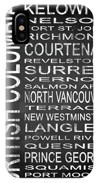 Vancouver City iPhone Case - Subway British Columbia Canada 2 by Melissa Smith