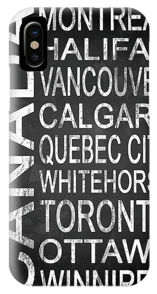 Vancouver City iPhone Case - Subway Canada 2 by Melissa Smith