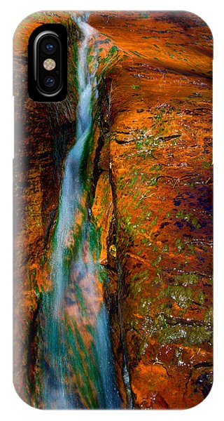 Flow iPhone Case - Subway's Fault by Chad Dutson