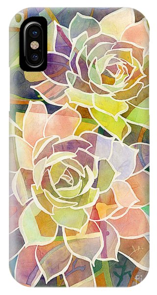 Botany iPhone Case - Succulent Mirage 2 by Hailey E Herrera