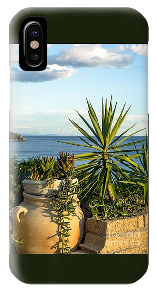 Succulents By The Sea IPhone Case