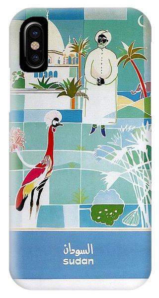 Emu iPhone Case - Sudan - Kuwait Airways Corporation - Kuwait - Retro Travel Poster - Vintage Poster by Studio Grafiikka