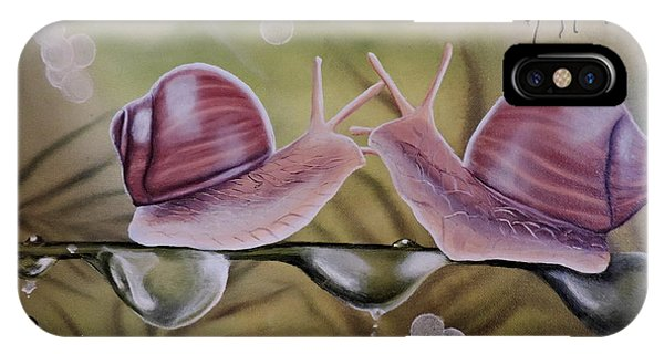 Sue And Sammy Snail IPhone Case