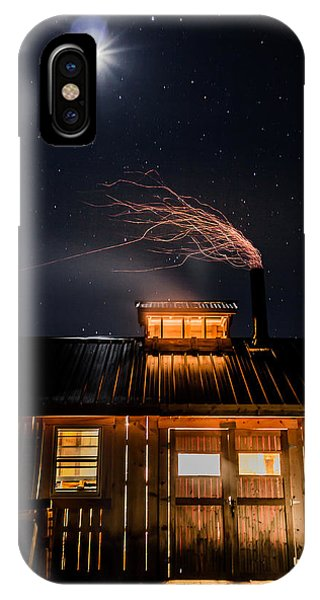 Sugar House At Night IPhone Case