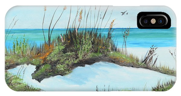Sugar White Beach IPhone Case