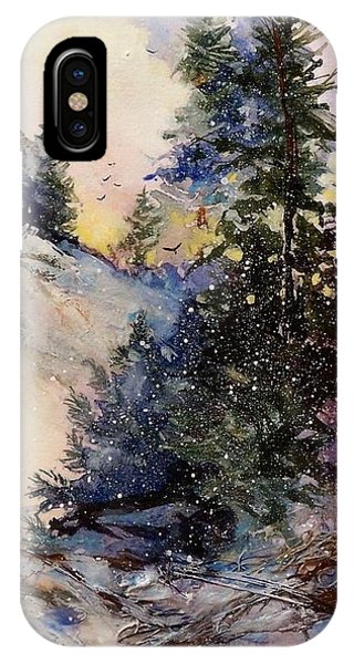 IPhone Case featuring the painting Sugarpines by Helen Harris
