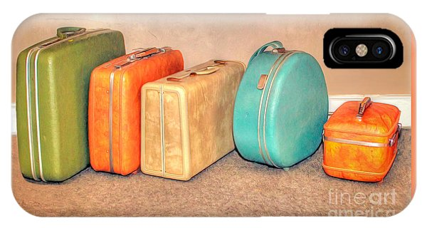 Suitcases IPhone Case