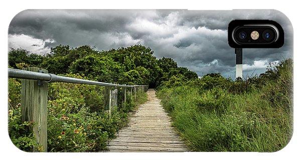 Sullivan's Island Summer Storm Clouds IPhone Case