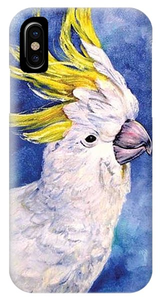 Sulphur-crested Cockatoo IPhone Case