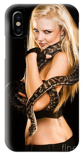 Sultry Sedutive Snake Dancer IPhone Case