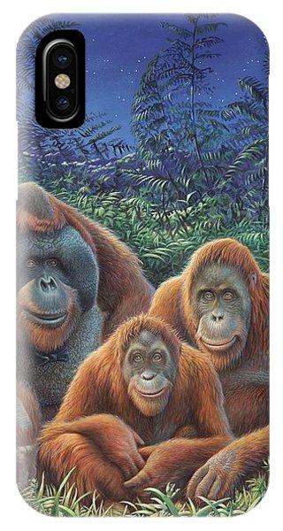 Sumatra Orangutans IPhone Case