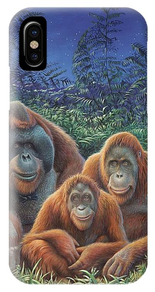 Sumatra Orangutans IPhone Case