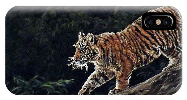 Sumatran Cub IPhone Case
