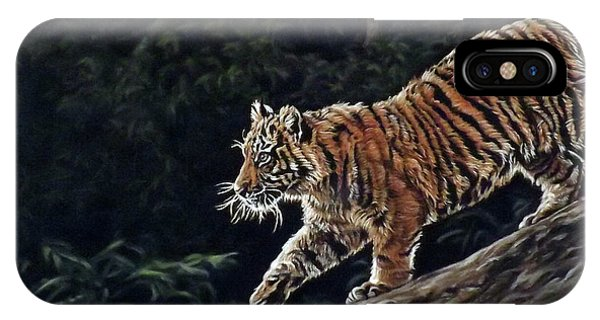 Sumatran Cub IPhone Case